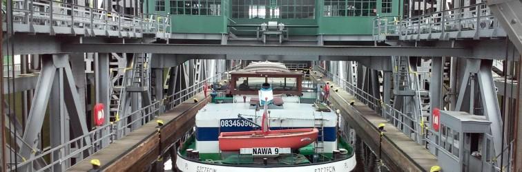 Podnośnia statków Niederfinow (Schiffshebewerk Niederfinow)